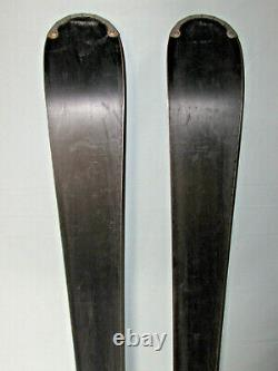 Salomon PURE WHITE women's all mtn skis 159cm with Salomon L10 adjust. Bindings