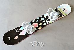 Salomon Snowboard Women's Gypsy 151 cm Girl's Gnu Bindings (130) 2012
