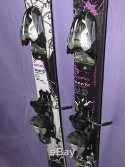 Salomon VAMP women's all mountain skis 151cm with Marker 10.0 ski bindings SNOW