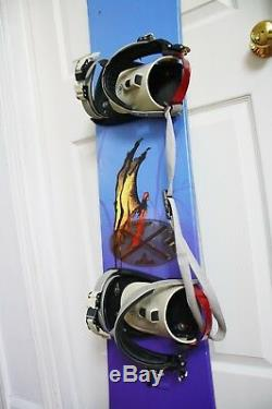 Sims Fs600 Snowboard Size 143 CM With Medium Bindings