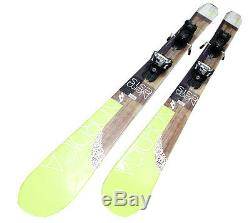 Ski Nordica Nemesis 161 169 Women's Ski Allmountain Used Binding Marker S-N