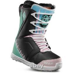 Snowboard Boots Womens Uk 7 Lashed Melancon Eu 40.5 Us 9 Black Pink Green