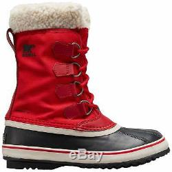 Sorel Winter Carnival Womens Boots Mountain Red All Sizes