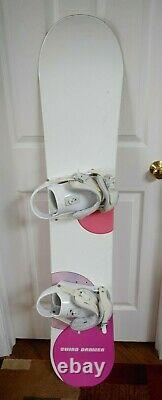 Third Drawer Snowboard Size 147 CM With Option Medium Bindings