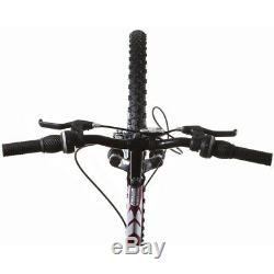 Titan Punisher Women's 21-Speed Dual Suspension All Terrain Mountain Bike, Purpl
