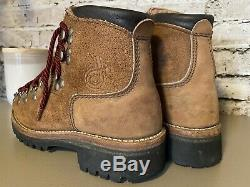 Vintage USA DEXTER All Leather Mountaineering Mountain Boots Men's 5 M Womens 7