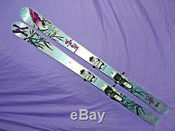 Volkl KENJA Women's All-Mountain Skis 163cm Camber with Marker Squire Bindings