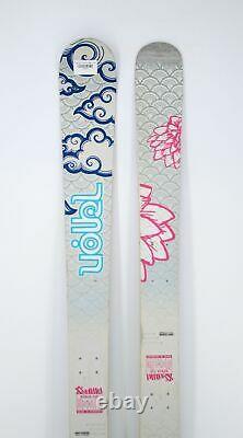 Volkl Kenja Womens Demo Flat Skis 149 cm Used
