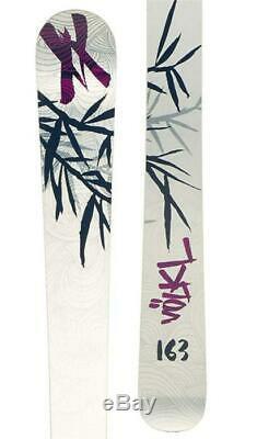 Volkl Kenja Womens Silver 163 cm All-Mountain Alpine Skis With Bindings