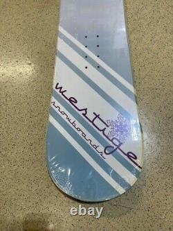 Westige Storm Snowboard Camber Cap All Mountain 145cm with Burton Sticker
