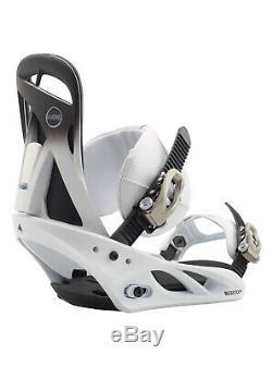 Women's 2020 Burton Scribe ReFlex Snowboard Binding M Fade To White