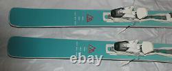 Women's All Mountain powder park Skis 160cm with adjustable Tyrolia bindings NEW