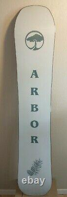Women's Arbor Swoon Snowboard 148cm rocker Used Demo