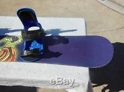 Women's Lamar Athena Snowboard 154cm Lamar Large MX 150 Bindings