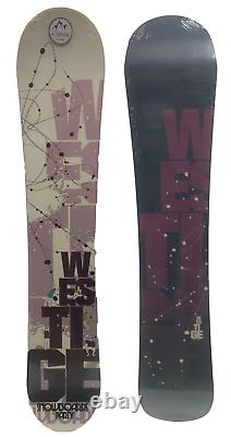 Women's Westige Party Snowboard 145cm Traditional Camber All-mountain