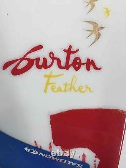 Womens Burton Feather Snowboard with Salomon S4 Bindings 149cm