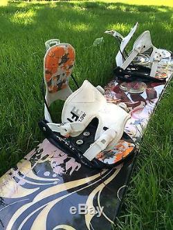 Womens Snowboard Boots Bindings And Helmet