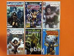 Wonder Woman (2016) Rebirth #1-83 + 750 / All A Covers / Near Mint Nm Full Run